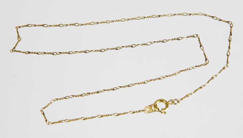 Gold Chain - Yellow Gold 333 - photo 1