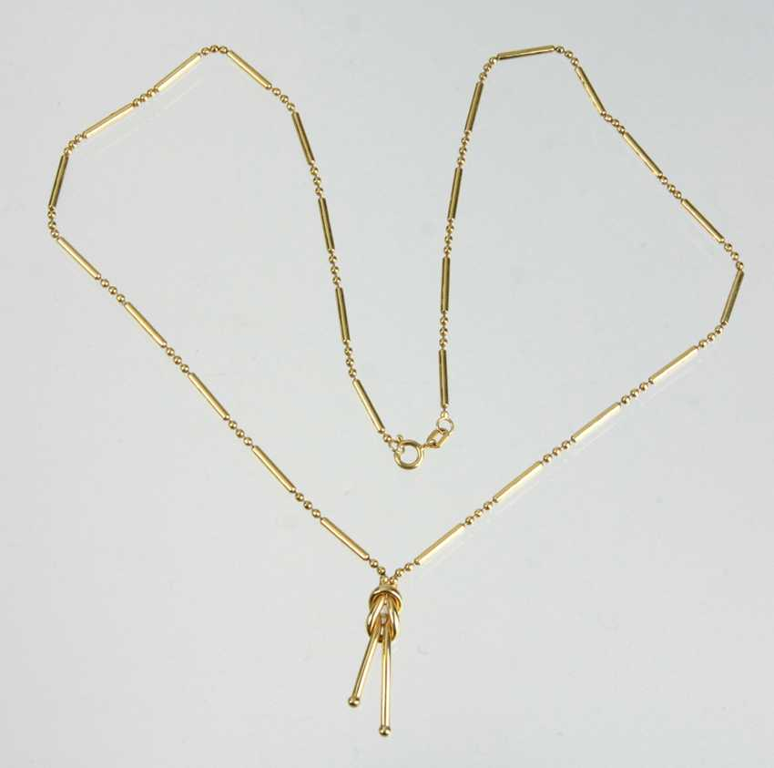 Design Necklace - Yellow Gold 585 - photo 1