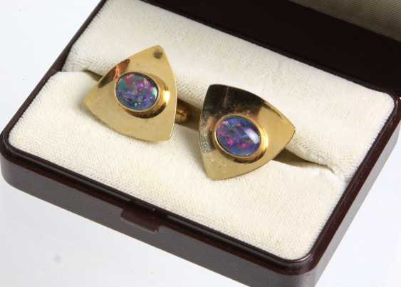 Opal Cufflinks - photo 1
