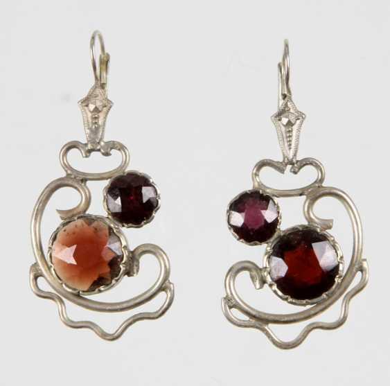 Garnet Earrings - photo 1