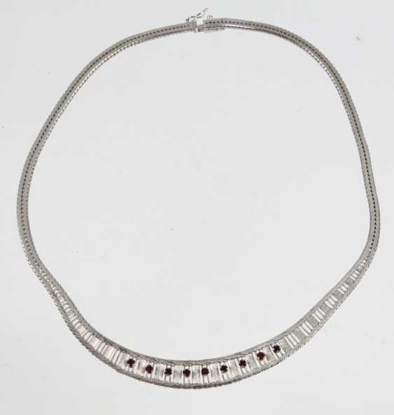 Ruby Necklace - Silver 835 - photo 1