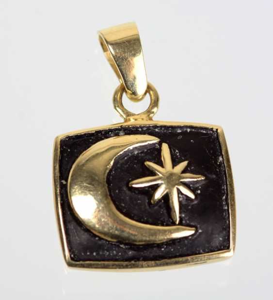 Harry Ivens Pendant Yellow Gold 375 - photo 1