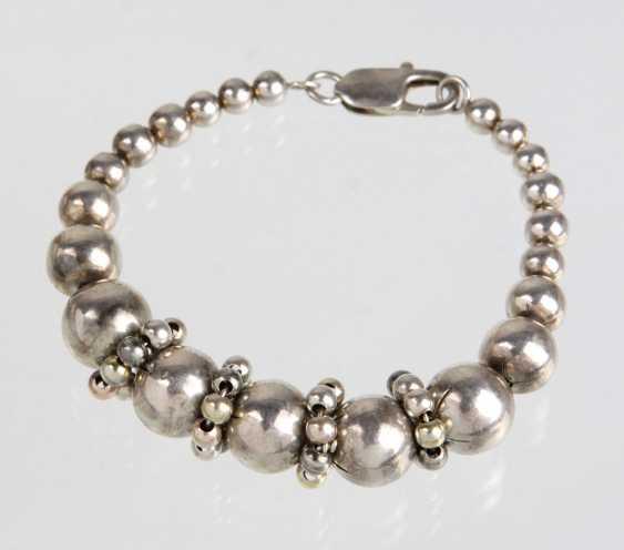 fancy silver bracelet - photo 1