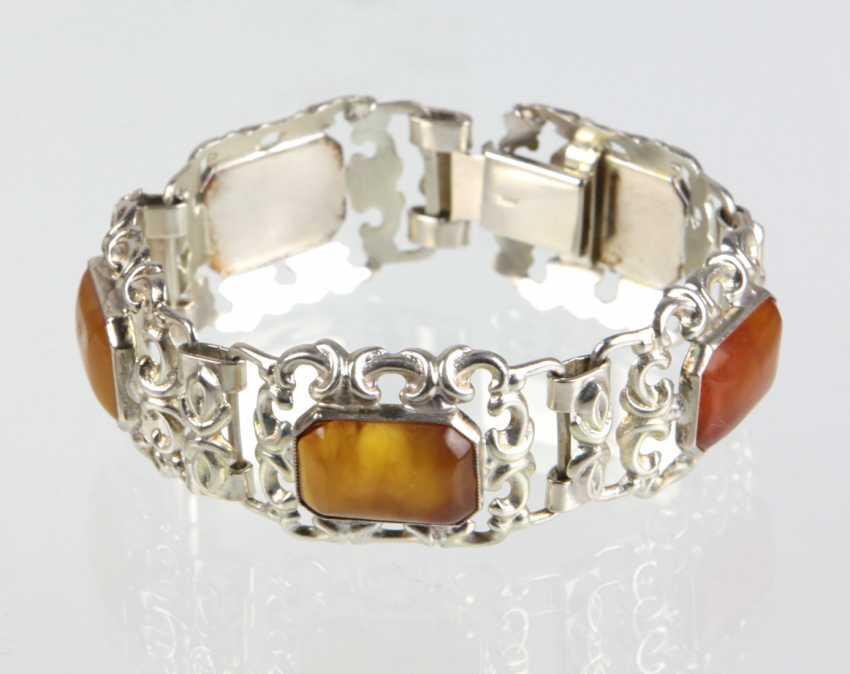 Amber Bracelet - Silver 900 - photo 1