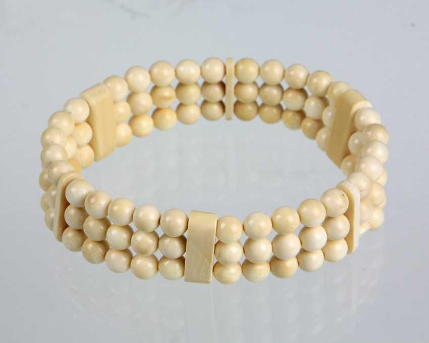 three-row leg ball bracelet - photo 1