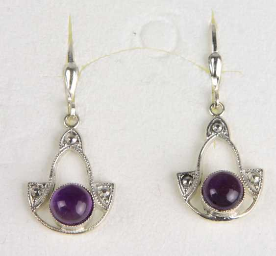 Amethyst Earrings - photo 1