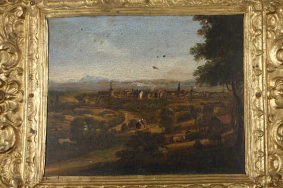 Six lacquer paintings Stobwasser, attributed to - photo 5