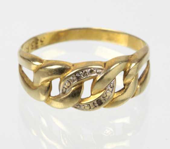 Ladies Ring - Yellow Gold 333 - photo 1