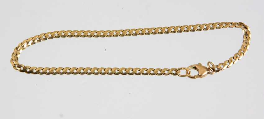 Golden chain bracelet - yellow gold 333 - photo 1