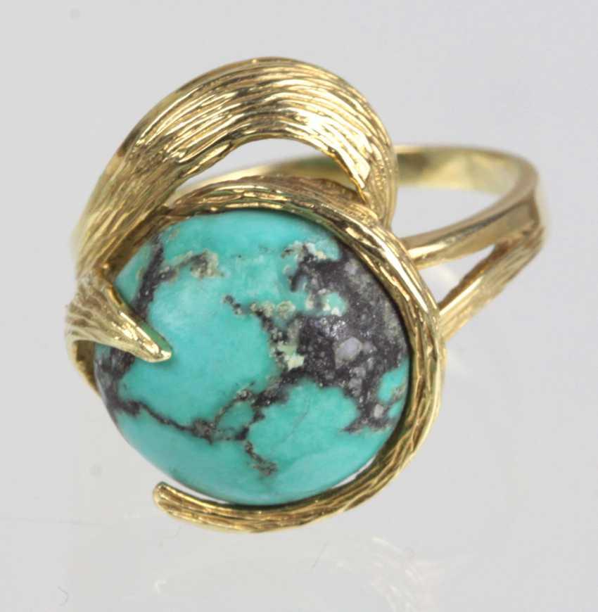 Turkish Ring 585 Gelbgold - photo 1