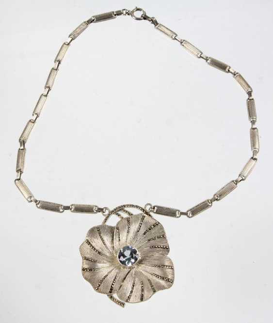 Elegant Fahrner Necklace - 925 Silver - photo 1