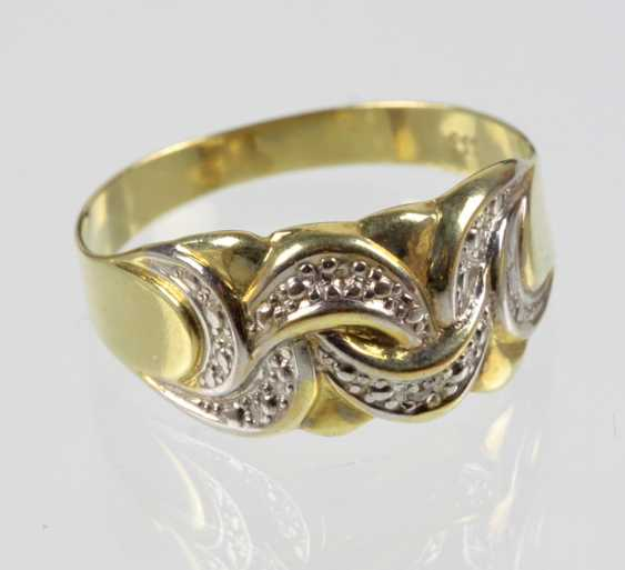 Diamant Ring - Gelbgold 333 - photo 1