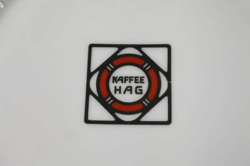 Plate Kaffee Hag Ad - photo 3
