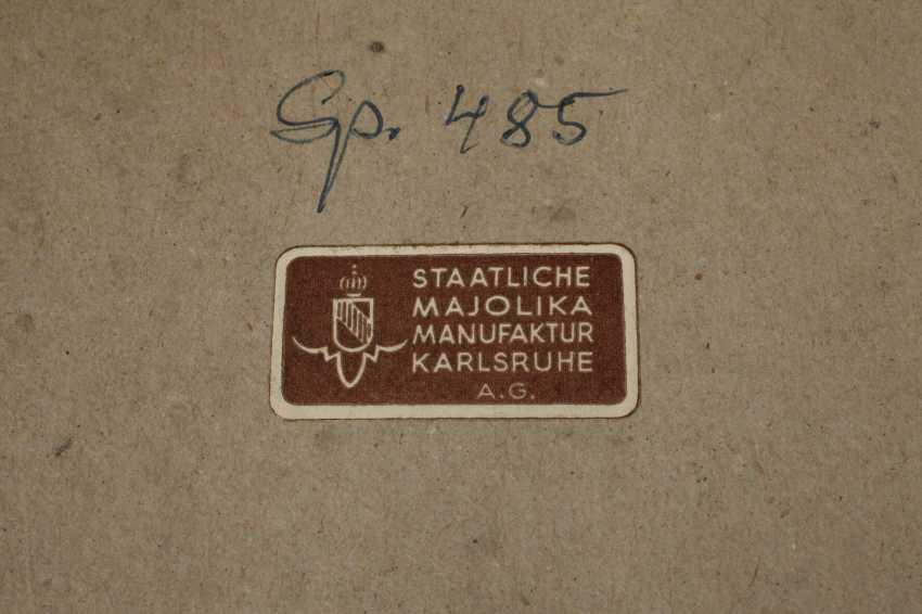 Плита стены стоящей на корточках обнаженная женщина - фото 4