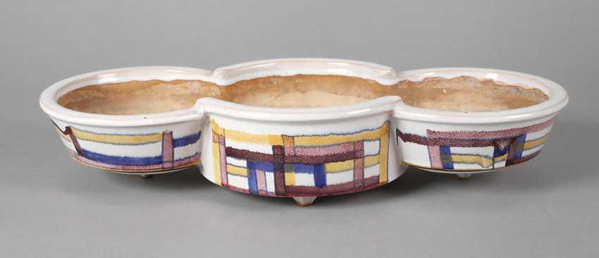 Velten-Vordamm three passige bowl planter - photo 1