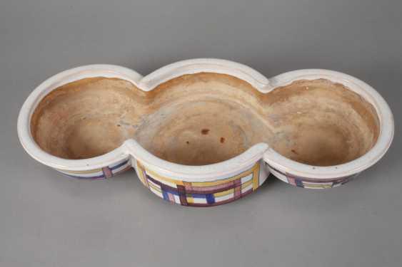 Velten-Vordamm three passige bowl planter - photo 2