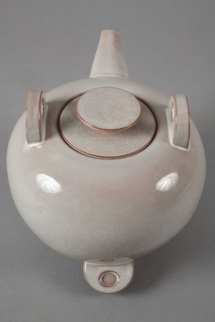 Karlsruhe Teapot By Otto Lindig - photo 3