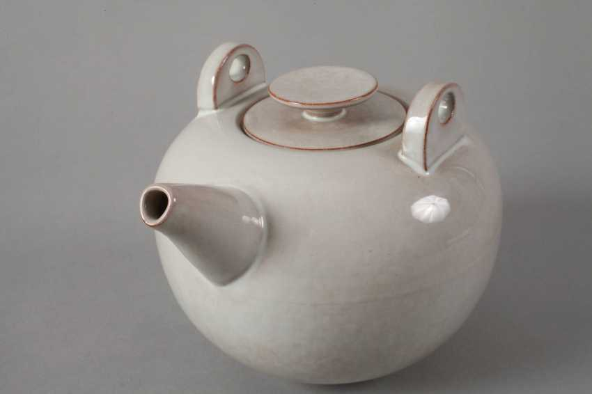 Karlsruhe Teapot By Otto Lindig - photo 5