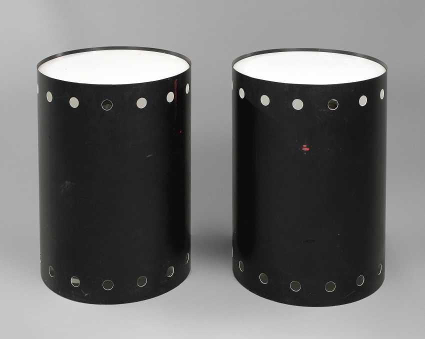 Two side tables with lighting - photo 1