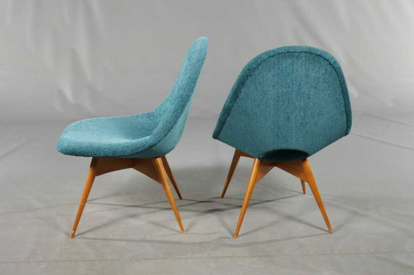 Two Upholstered Armchairs - photo 4