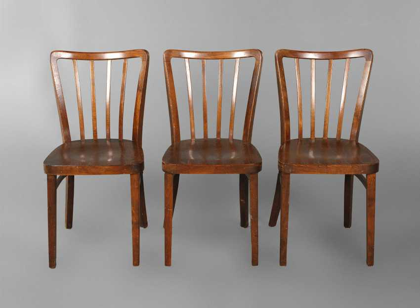 Three Thonet Chairs - photo 1