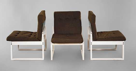 Three Upholstered Armchairs - photo 1