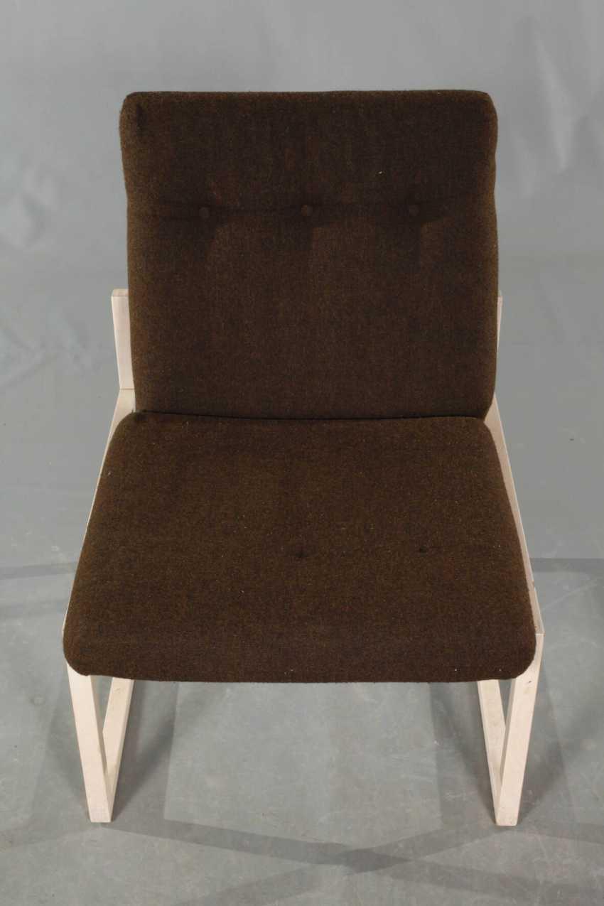 Three Upholstered Armchairs - photo 2