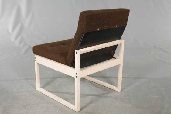 Three Upholstered Armchairs - photo 3