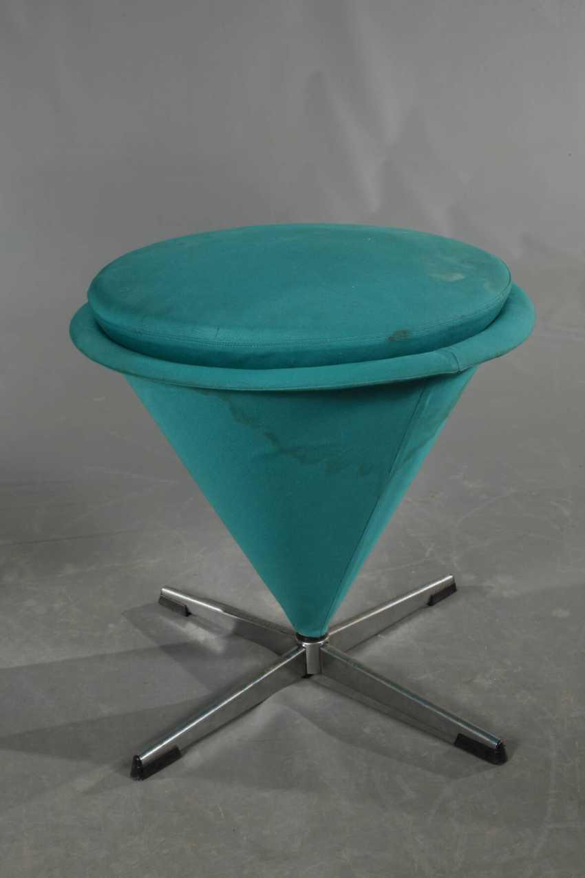 Chair and stool Verner Panton - photo 2