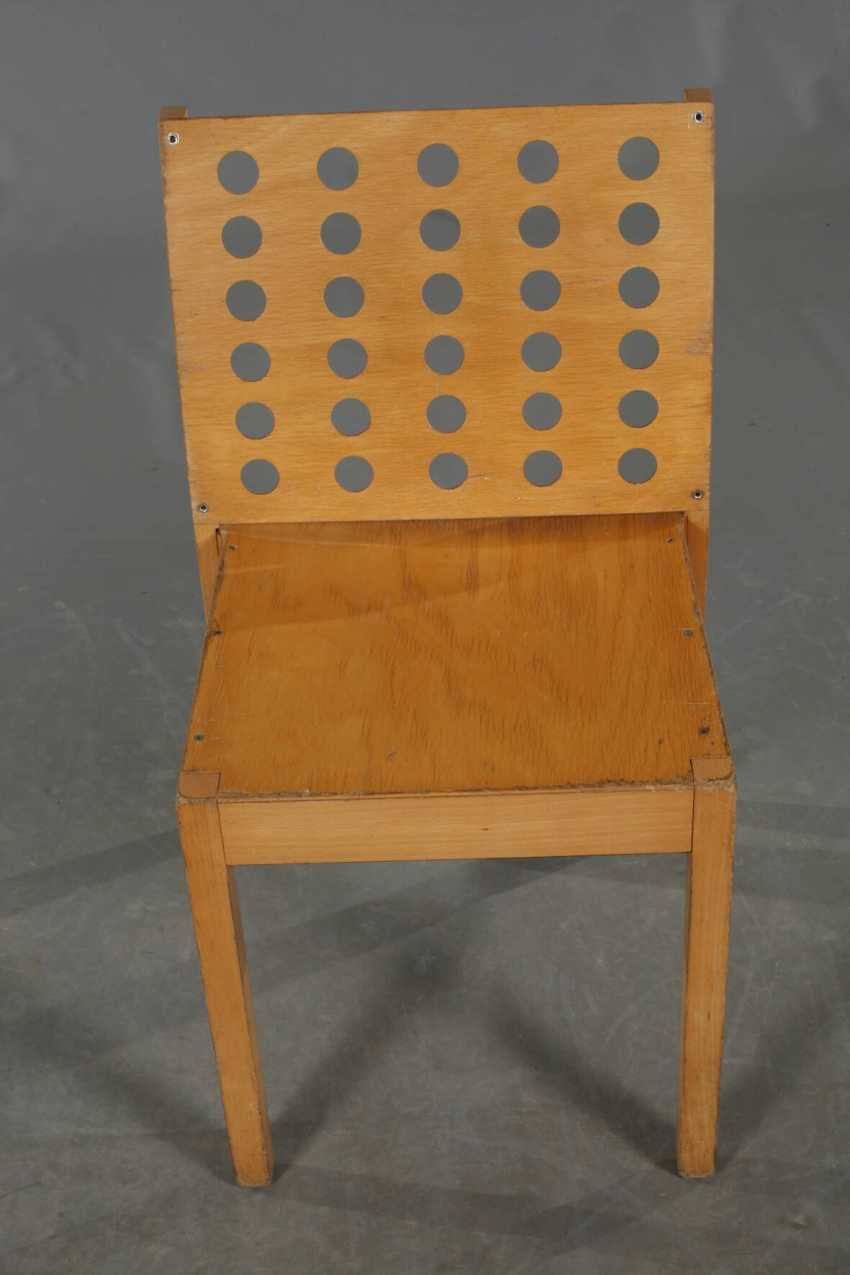 Six Stacking Chairs, Thonet - photo 2