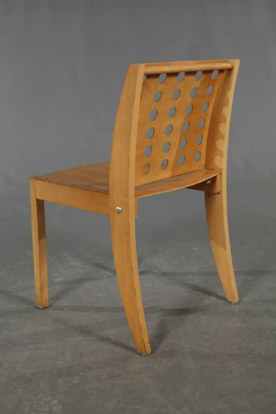Six Stacking Chairs, Thonet - photo 3