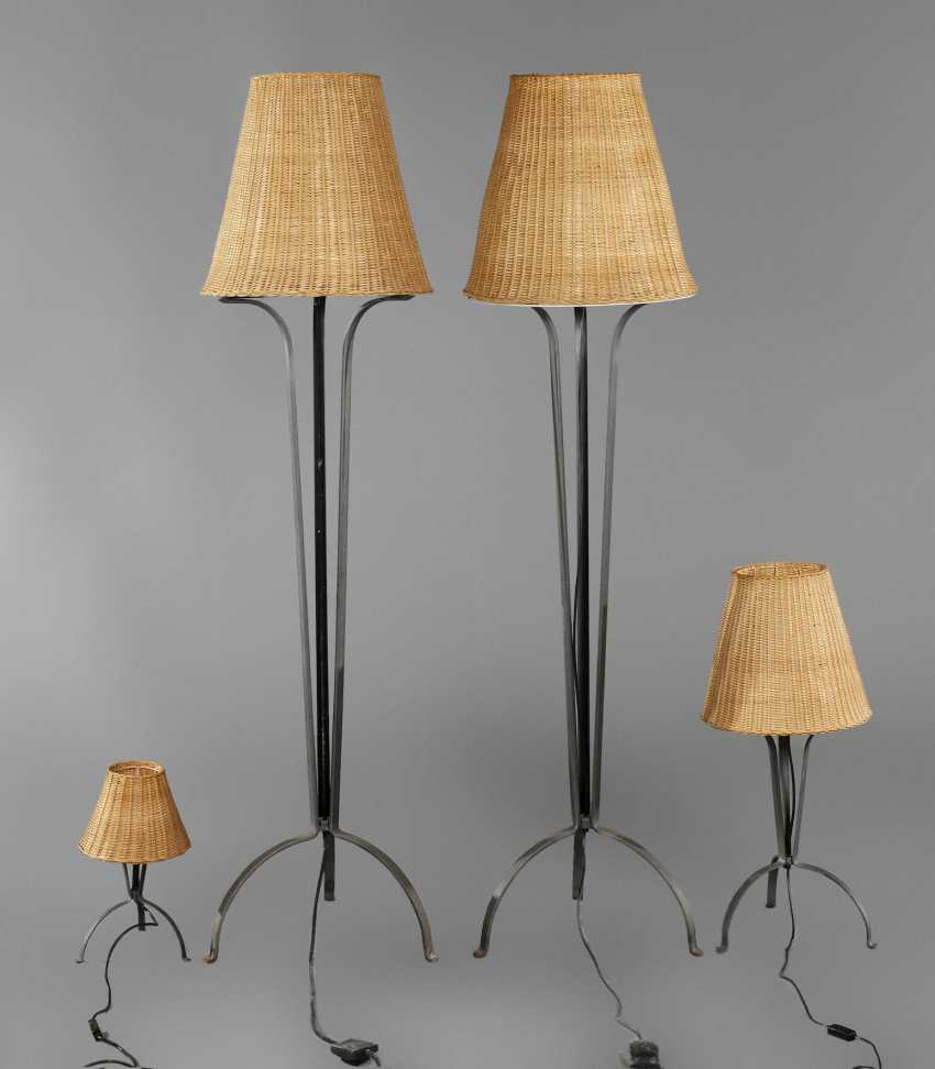 Four Floor Lamps - photo 1
