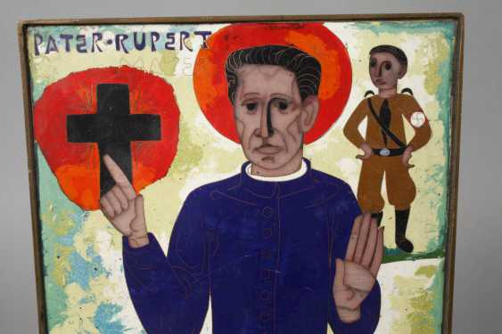 Emailleplatte Pater Rupert Mayer - photo 2