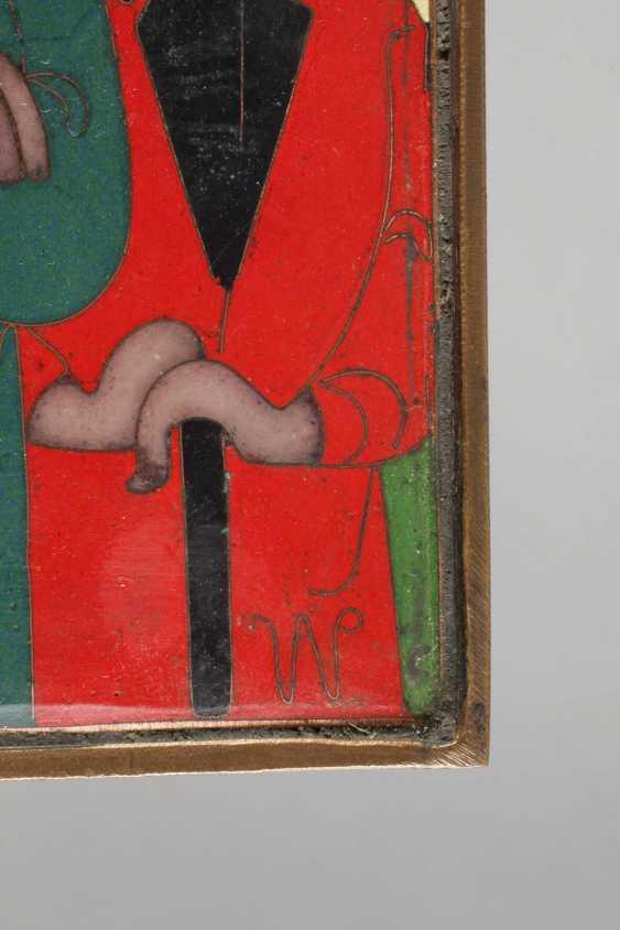 Emailleplatte Pater Rupert Mayer - photo 4