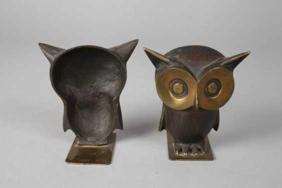 Pair of bookends as an owl's - photo 2