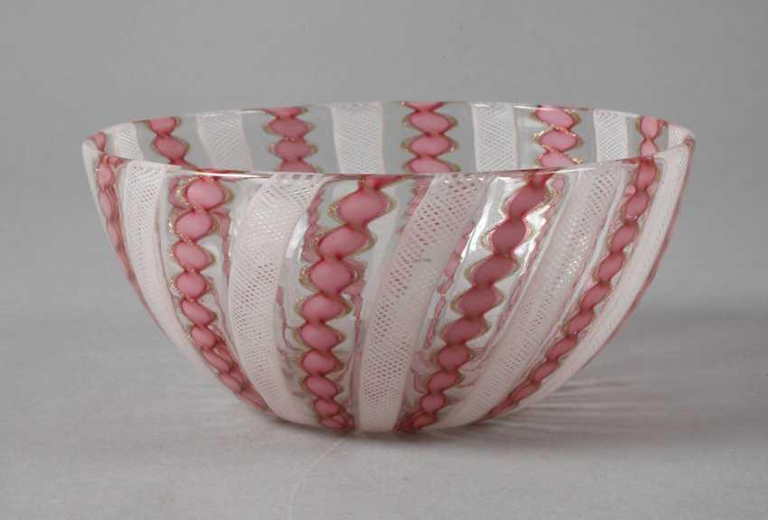 Murano Bowl Shell Bowl, - photo 1