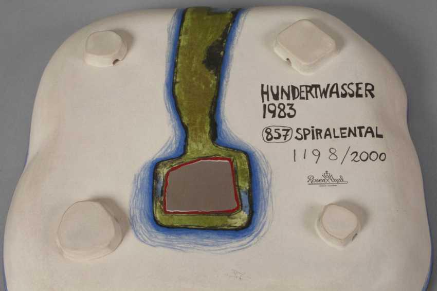 """Friedensreich Hundertwasser """"Spiralental"""" - photo 4"""