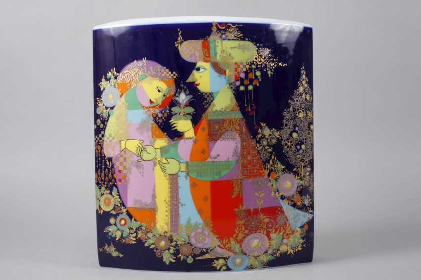 "Rosenthal large vase ""1001 night"" - photo 2"