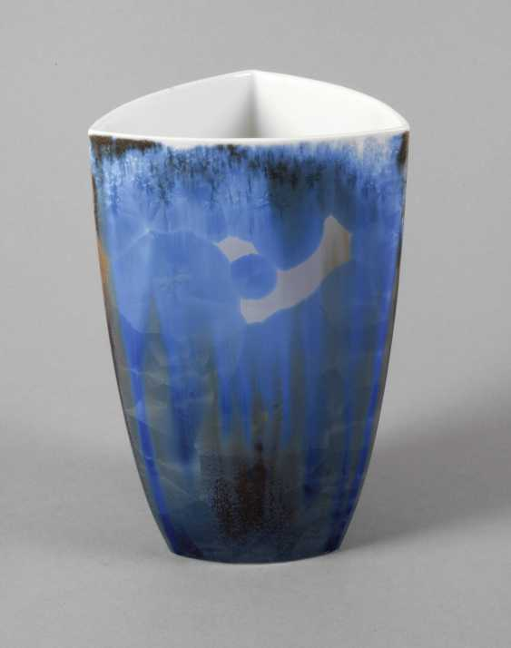Black Castle Crystal Glaze Vase - photo 1