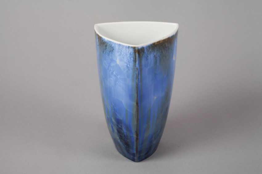 Black Castle Crystal Glaze Vase - photo 2