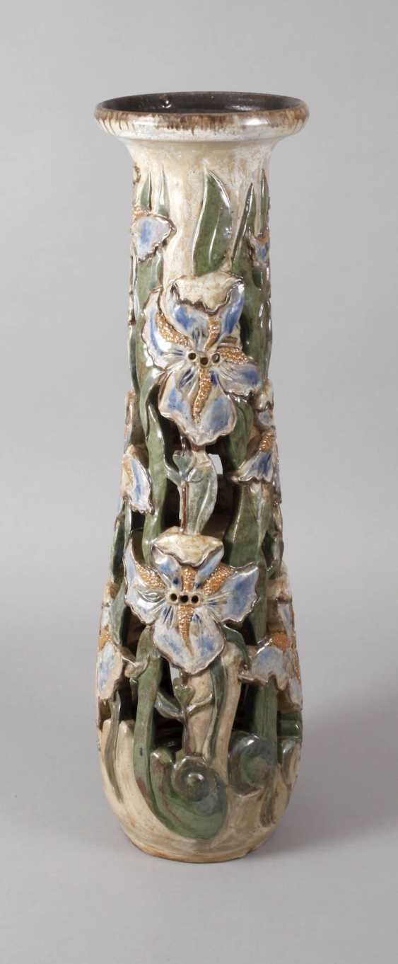 Willy Biron, large ceramic pillar - photo 1