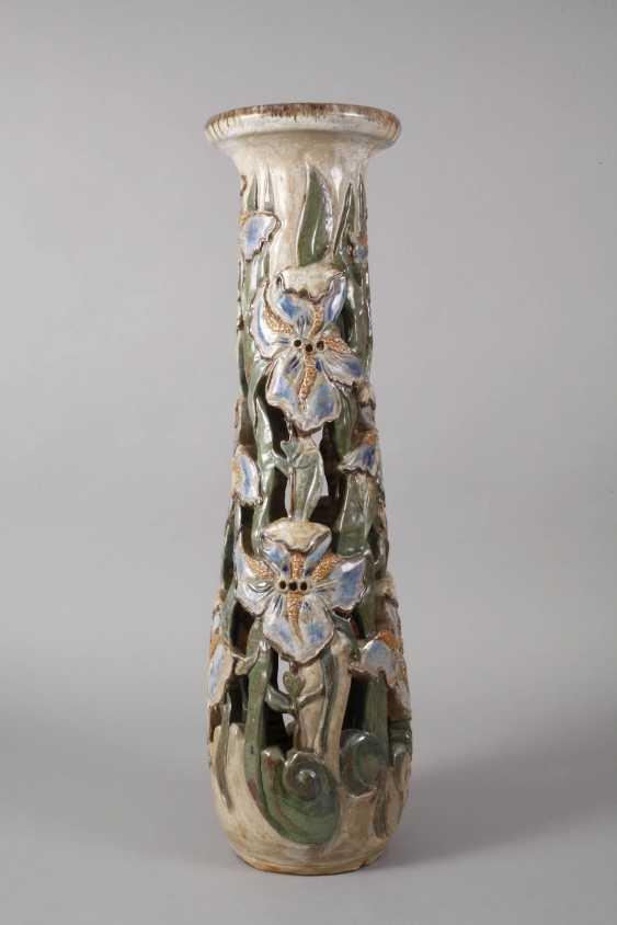 Willy Biron, large ceramic pillar - photo 2