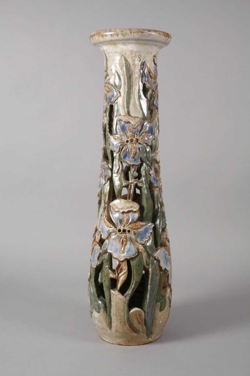 Willy Biron, large ceramic pillar - photo 4