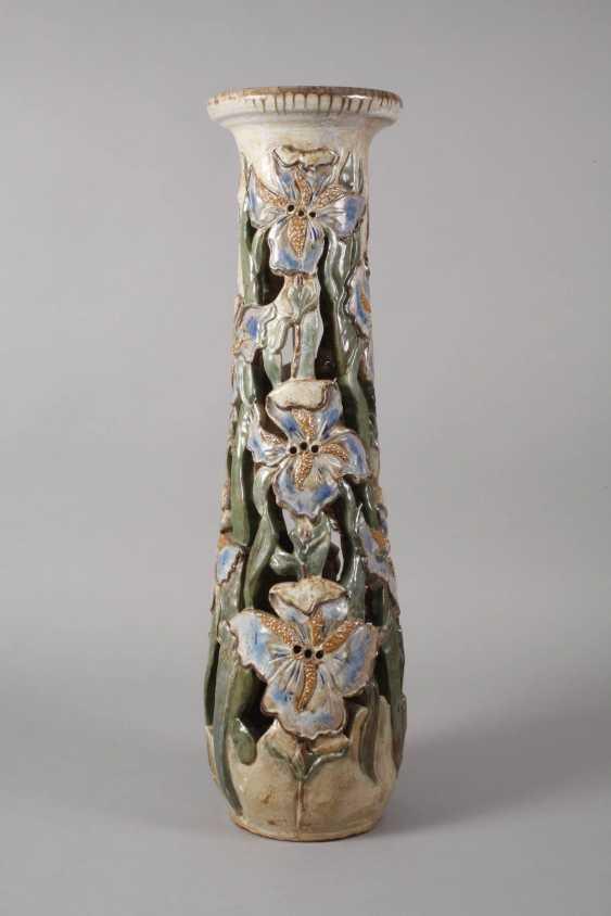 Willy Biron, large ceramic pillar - photo 5