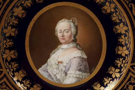 "Old Vienna Plate ""Empress Maria Theresia"" - photo 2"