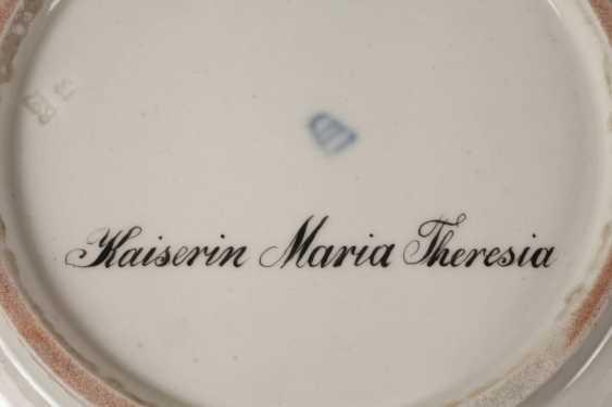"Old Vienna Plate ""Empress Maria Theresia"" - photo 4"