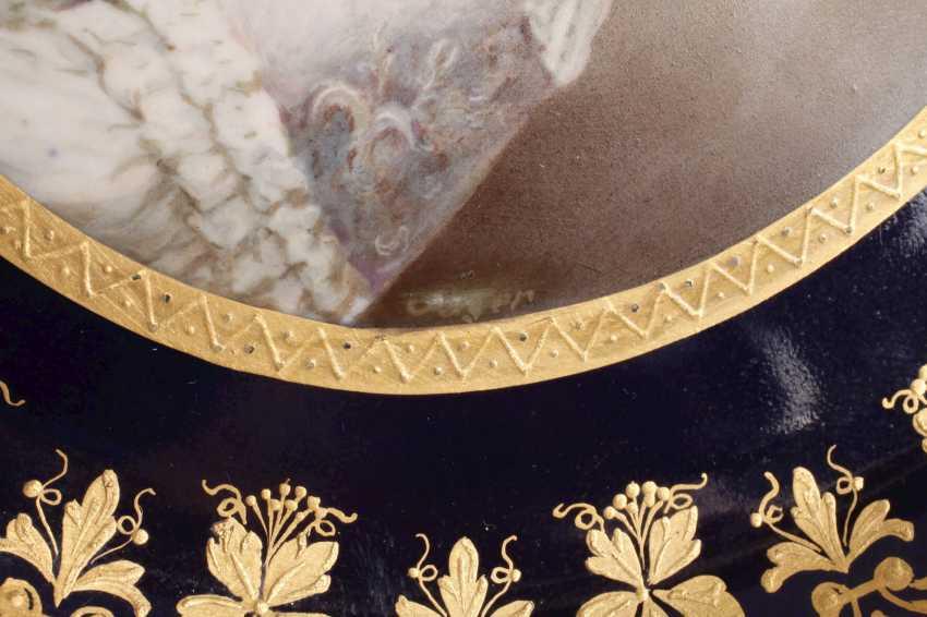 "Old Vienna Plate ""Empress Maria Theresia"" - photo 5"