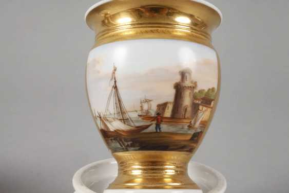 Two collector's cups with kauffahrtei scene - photo 3