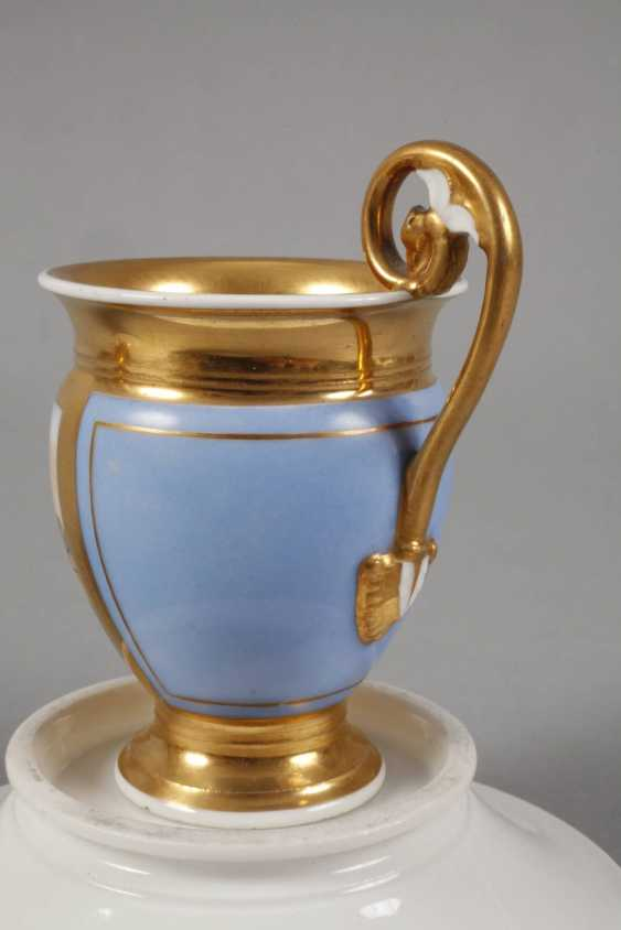 Two collector's cups with kauffahrtei scene - photo 5