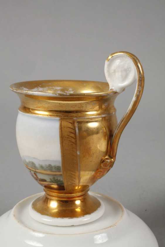 Two collector's cups with kauffahrtei scene - photo 6